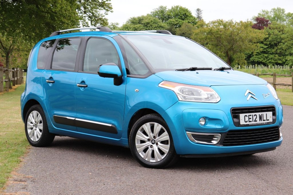 USED 2012 12 CITROEN C3 PICASSO 1.6 PICASSO EXCLUSIVE EGS  5d 120 BHP Parking Aid +Cruise +Bluetooth