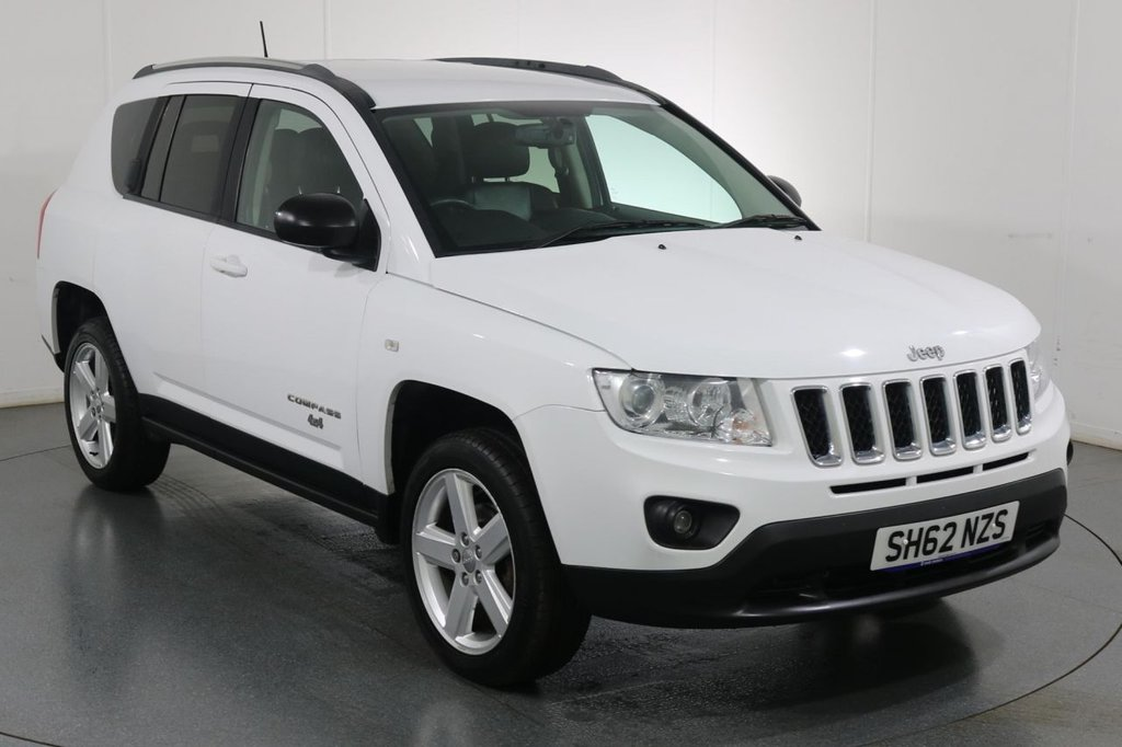 USED 2012 62 JEEP COMPASS 2.1 CRD LIMITED 4WD 5d 161 BHP FULL 8 STAMP SERVICE HISTORY