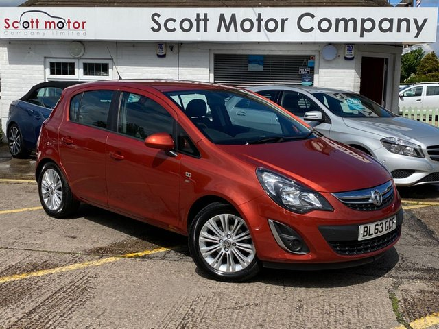 USED 2013 63 VAUXHALL CORSA 1.2 SE 5 door - only 19,000 miles