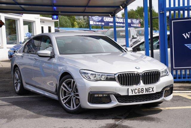2019 68 BMW 7 SERIES 3.0 730D M SPORT 4d 261 BHP