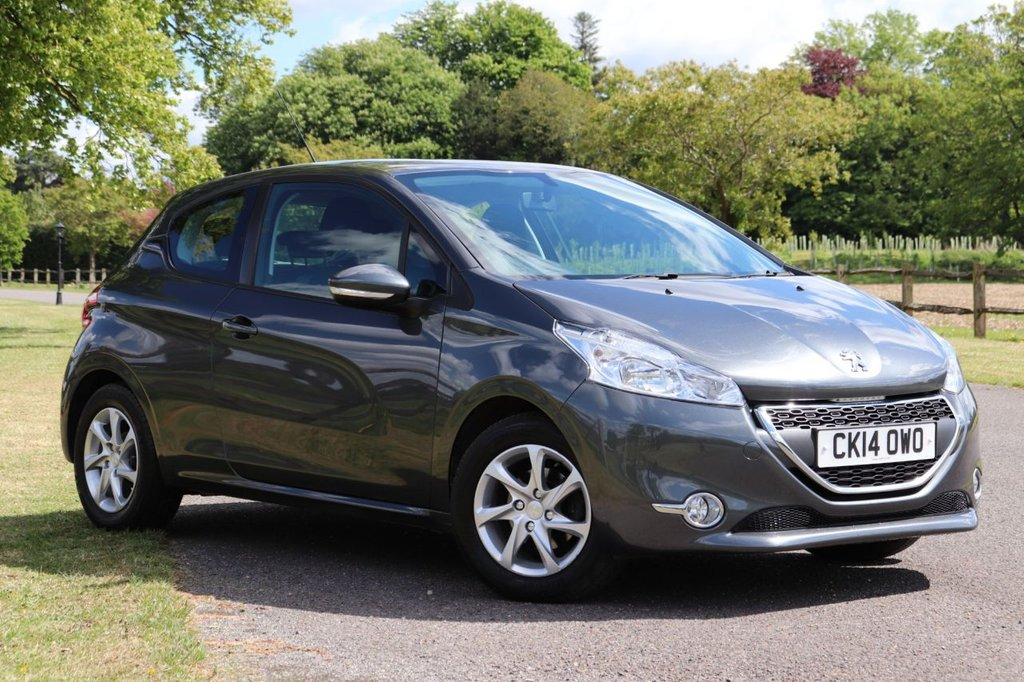 USED 2014 14 PEUGEOT 208 1.2 ACTIVE 3d 82 BHP Cruise + Dab + Bluetooth
