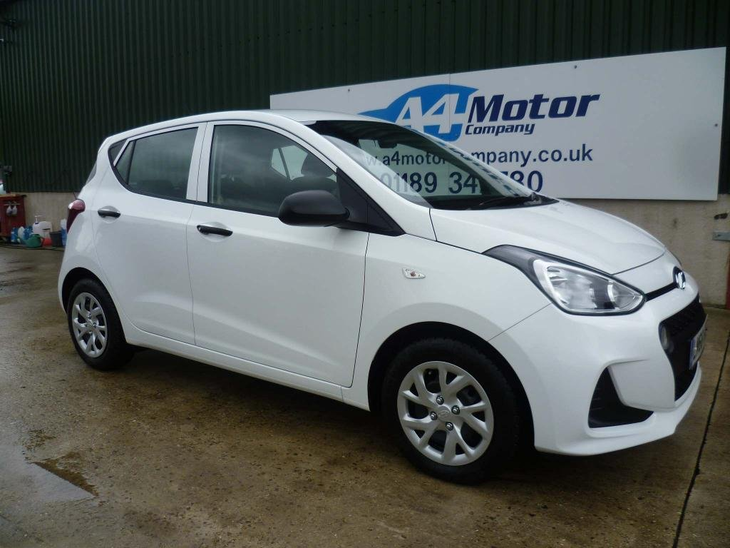 USED 2018 68 HYUNDAI I10 1.0 S 5dr WHITE,ONE OWNER LOW MILEAGE