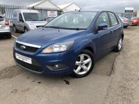 USED 2010 10 FORD FOCUS 1.6 TDCi DPF Zetec 5dr 2 OWNERS+1 YEARS MOT+GREAT MPG