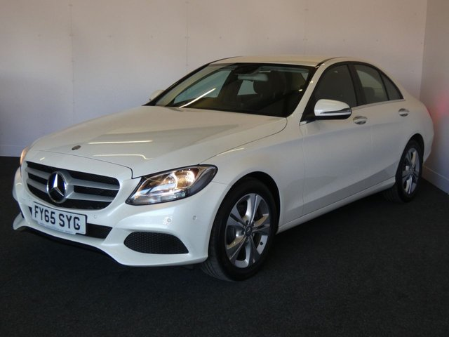 2015 65 MERCEDES-BENZ C-CLASS 2.1 C220 D SE EXECUTIVE 4d 170 BHP