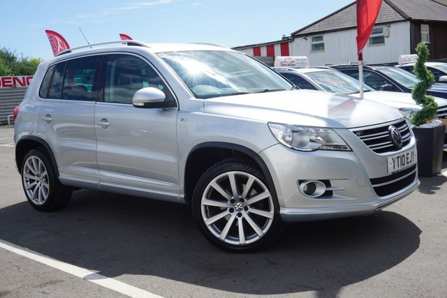 USED 2010 10 VOLKSWAGEN TIGUAN 2.0 R LINE TDI 4MOTION 5d 138 BHP CLEAN EXAMPLE  JUST ARRIVED