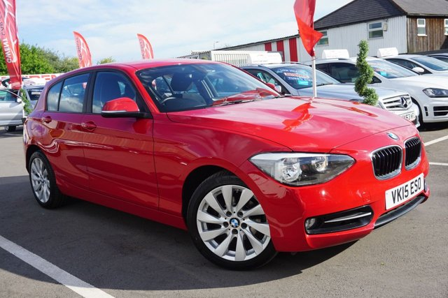 USED 2015 15 BMW 1 SERIES 2.0 116D SPORT 5d 114 BHP JUST ARRIVED NEW IN