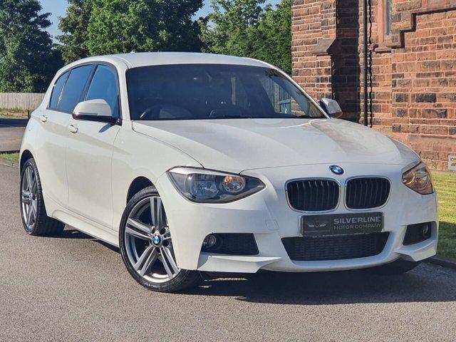 2013 13 BMW 1 SERIES 2.0 120D XDRIVE M SPORT 5d 181 BHP