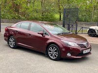 2012 TOYOTA AVENSIS 1.8 TR VALVEMATIC  4d 147 BHP £4650.00