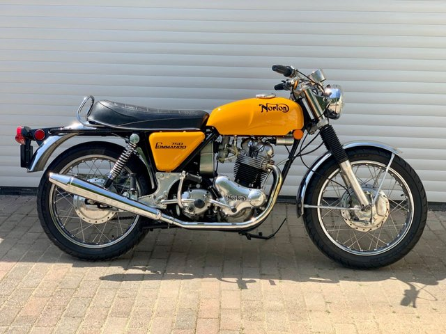 USED 1974 NORTON COMMANDO 750 Roadster Fully Rebuilt Better Than New!