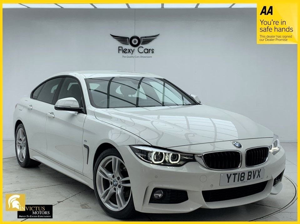 USED 2018 18 BMW 4 SERIES 2.0 420I M SPORT GRAN COUPE 4d 181 BHP