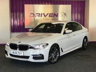 2018 18 BMW 5 SERIES 2.0 520I M SPORT 4d 181 BHP