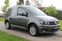 USED 2016 16 VOLKSWAGEN CADDY 2.0 C20 TDI HIGHLINE 101 BHP EURO 6 - HIGH LINE - AUTOMATIC -