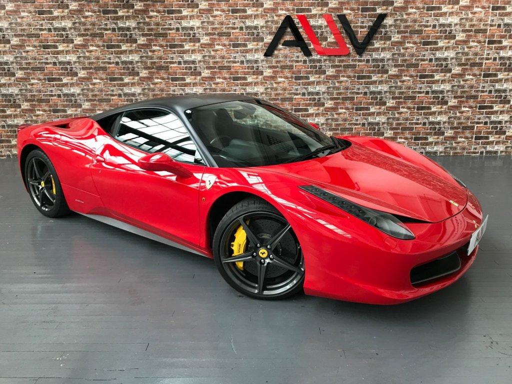 USED 2013 13 FERRARI 458 ITALIA 4.5 ITALIA DCT 2d 570 BHP