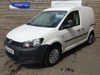 USED 2014 64 VOLKSWAGEN CADDY 1.6 C20 TDI STARTLINE BLUEMOTION TECHNOLOGY 101 BHP