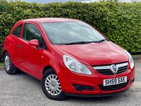 USED 2009 59 VAUXHALL CORSA 1.0 LIFE 3d 60 BHP * 2 OWNERS FROM NEW  * LOW MILEAGE CAR *