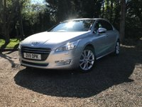 USED 2011 11 PEUGEOT 508 2.0 ALLURE HDI  4d 140 BHP RESERVE ONLINE, GREAT SPEC