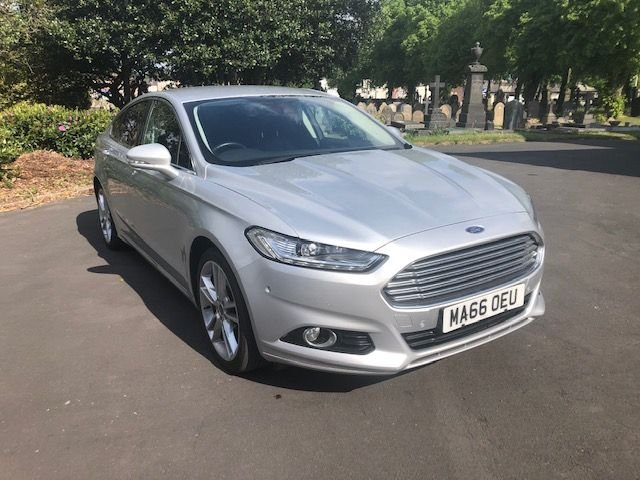 USED 2016 66 FORD MONDEO 2.0 TITANIUM TDCI 5d 177 BHP Buy Online.Nationwide Delivery