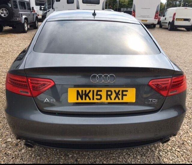 2015 Audi A5 Sportback TDI Quattro Black ED PL £14,999