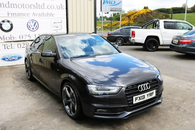 USED 2013 13 AUDI A4 2013 AUDI A4 2.0 TDI S LINE BLACK EDITION STYLE AUTO 141 BHP (FINANCE AND WARRANTY)