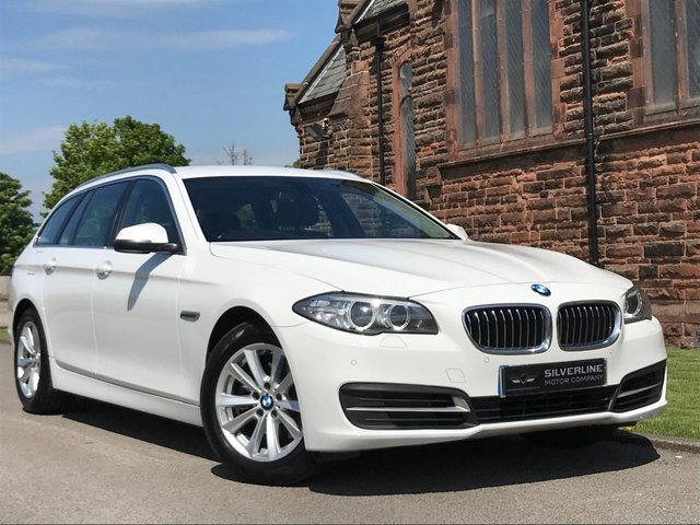 2014 64 BMW 5 SERIES 2.0 520D SE TOURING 5d 188 BHP