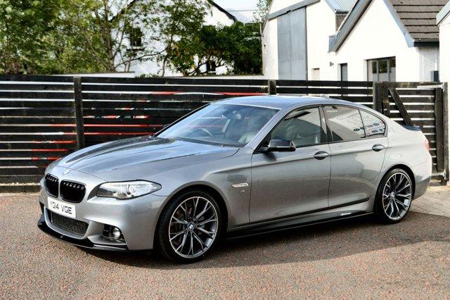 2014 14 BMW 5 SERIES 2.0 520D M SPORT 4d 181 BHP