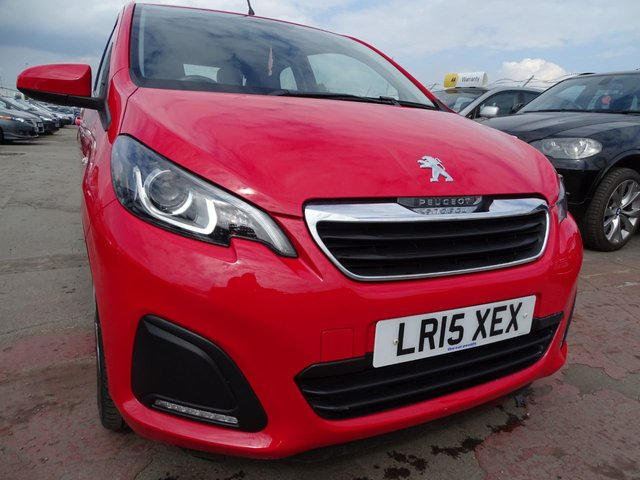 USED 2015 15 PEUGEOT 108 1.0 ACTIVE 3d 68 BHP VERY LOW MILES