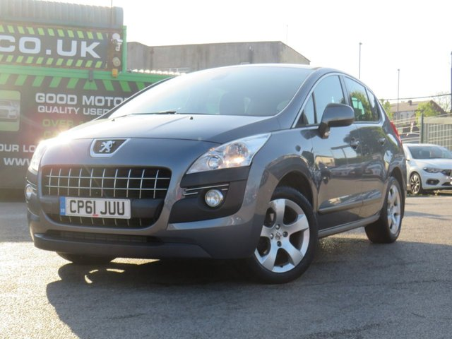 USED 2011 61 PEUGEOT 3008 1.6 ACTIVE HDI FAP 5d 112 BHP