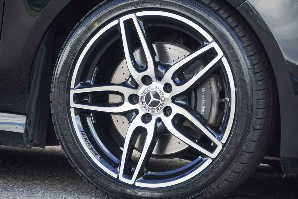USED 2017 67 MERCEDES-BENZ CLA 2.1 CLA 220 D AMG LINE 4d 174 BHP
