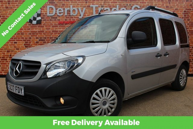MERCEDES-BENZ CITAN at Derby Trade Cars