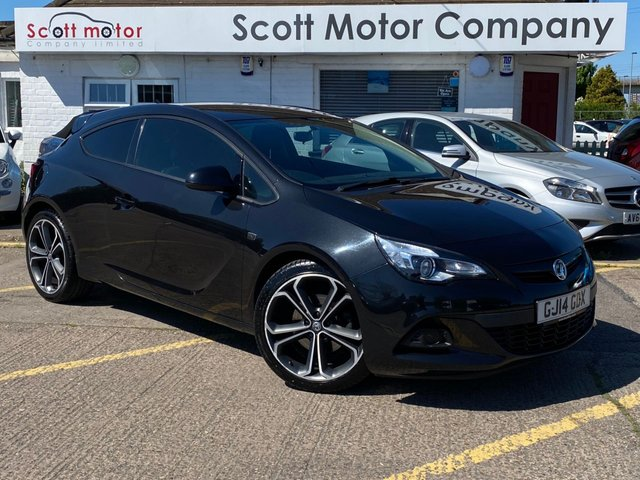USED 2014 14 VAUXHALL ASTRA 1.4 GTC Limited Edition S/S 3 door