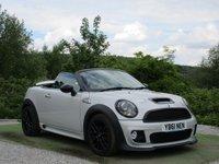 USED 2012 61 MINI ROADSTER 1.6 COOPER S 2d 181 BHP