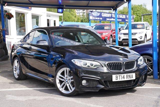 2014 14 BMW 2 SERIES 2.0 218D M SPORT 2d 141 BHP