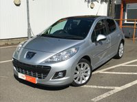 USED 2011 11 PEUGEOT 207 1.6 HDI ALLURE 5d 92 BHP RESERVE ONLINE, FULL HISTORY