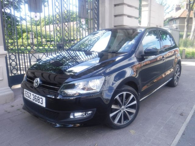 USED 2014 63 VOLKSWAGEN POLO 1.2 MATCH EDITION TDI 5d 74 BHP *** FINANCE & PART EXCHANGE WELCOME *** £ 20 A YEAR ROAD TAX BLUETOOTH PHONE PARKING SENSORS AIR/CON CRUISE CONTROL DAB RADIO