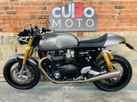 USED 2019 68 TRIUMPH THRUXTON 1200 R Black Edition Vance & Hines Exhaust + Extras
