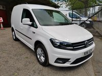 USED 2016 16 VOLKSWAGEN CADDY 2.0 C20 TDI HIGHLINE 102 PS DSG *1 OWNER + VERY HIGH SPEC* RARE MODEL WITH EXCELLENT SPECIFICATION