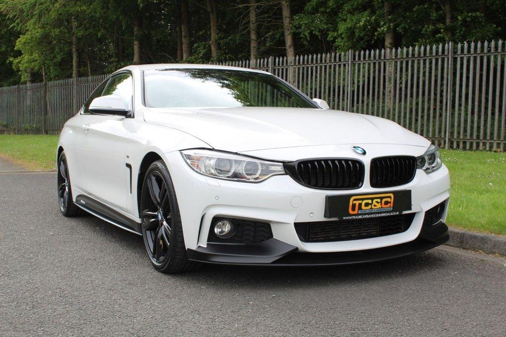 USED 2016 66 BMW 4 SERIES 2.0 420D M SPORT 2d 188 BHP