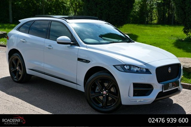 USED 2019 19 JAGUAR F-PACE 2.0i R-Sport Auto AWD (s/s) 5dr NAV+CAMERA+OPEN PAN ROOF