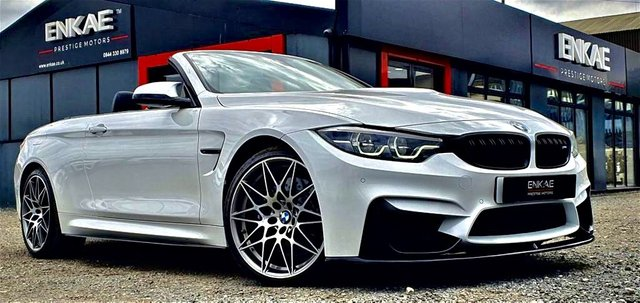 2017 67 BMW M4 BMW M4 COMPETITION PACKAGE-S 444 BHP