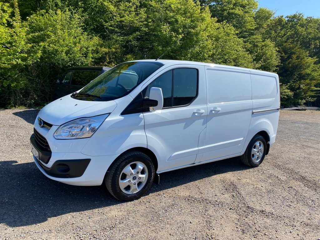 USED 2017 17 FORD TRANSIT CUSTOM 2.0 270 LIMITED LR P/V 170 BHP ULEZ COMPLIANT EURO 6