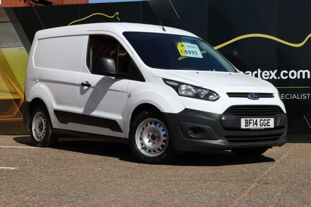 2014 14 FORD TRANSIT CONNECT 1.6 SIDE LOADING DOOR AIR CON NO VAT 200 P/V 94 BHP
