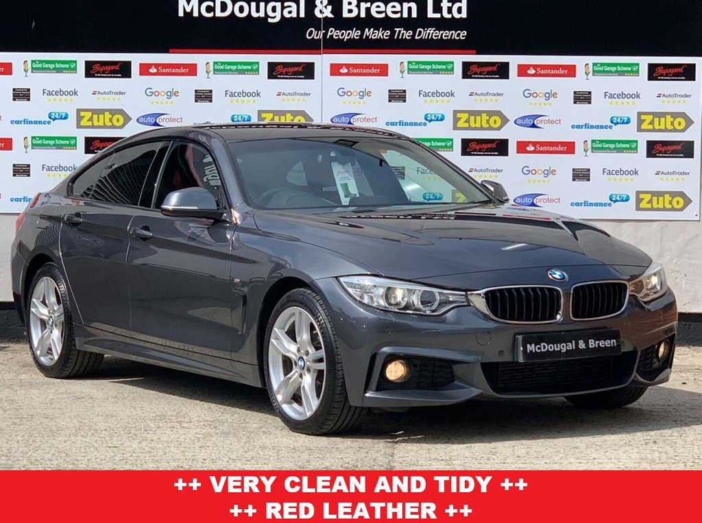 USED 2016 16 BMW 4 SERIES 2.0 420D XDRIVE M SPORT GRAN COUPE 4d 188 BHP