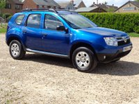2014 DACIA DUSTER 1.5 AMBIANCE DCI 4WD 5d 109 BHP