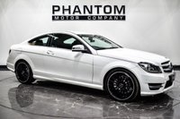 USED 2013 13 MERCEDES-BENZ C-CLASS 2.1 C220 CDI BLUEEFFICIENCY AMG SPORT PLUS 2d 168 BHP