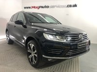 USED 2017 17 VOLKSWAGEN TOUAREG 3.0 V6 R-LINE TDI BLUEMOTION TECHNOLOGY 5d 259 BHP *PAN ROOF & REVERSING CAMERA*