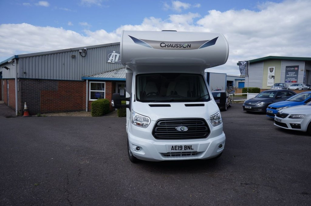 USED 2019 19 FORD CHAUSSON 2.0  * LUXURY 6 Berth WITH DELIVERY MILAGE ONLY IN IMMACULATE NEW CONDITION * Save £1000s on New Price *