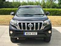 USED 2014 14 TOYOTA LAND CRUISER 3.0 D-4D ICON 5d 188 BHP