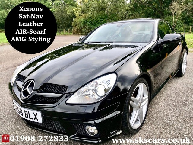 2008 58 MERCEDES-BENZ SLK 3.5 SLK350 2d 305 BHP