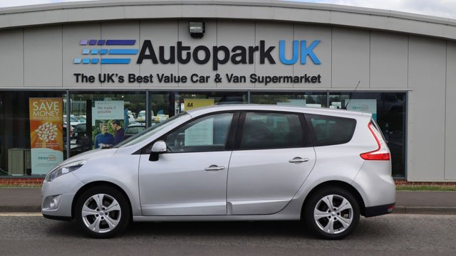 USED 2012 12 RENAULT SCENIC 1.5 DYNAMIQUE TOMTOM DCI 5d 110 BHP LOW DEPOSIT OR NO DEPOSIT FINANCE AVAILABLE