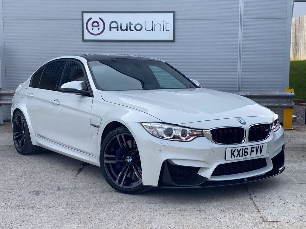 USED 2016 16 BMW M3 3.0 M3 4d 426 BHP PRONAV | HK SOUND | REAR CAMERA | FULL BMW HISTORY